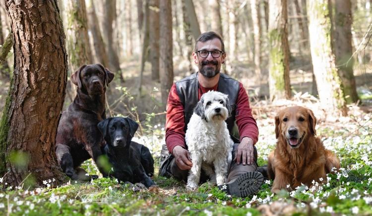 Büxe, Ulvy, ich, Pedro und Phinegean (von links)